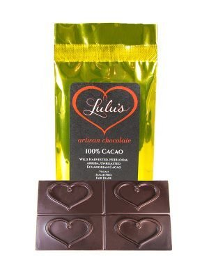 100% Cacao Chocolate Bar