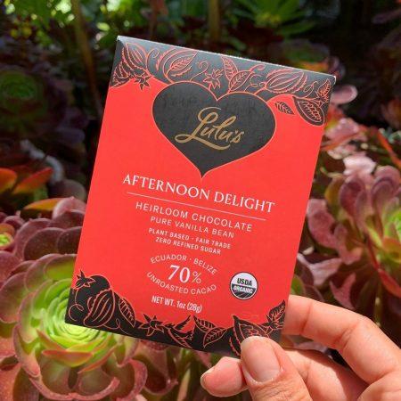 Afternoon Delight - Organic Vegan Dark Chocolate Bar
