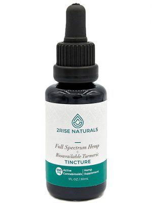Full Spectrum CBD Oil Tincture with Bioavailable Turmeric