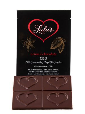 CBD Chocolate Bar – 80mg