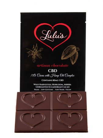 CBD Chocolate Bar – 80mg