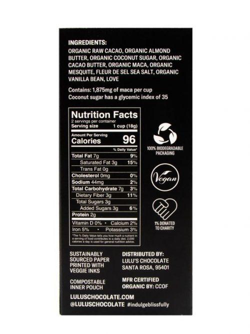 Maca Buttercups - Organic Vegan Dark Chocolate Truffles